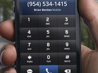 Dialpad - iPhone UI