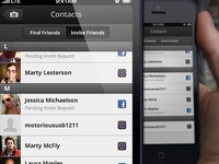 Contact-type Icons — iPhone UI