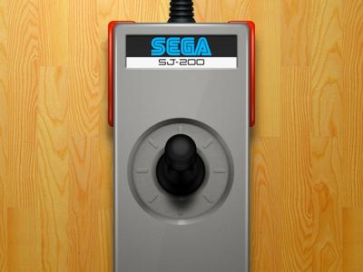 Sega SJ-200 joystick (SG-1000 console)