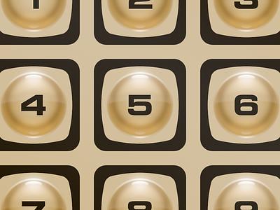 Button Love openemu illustration controller emulation buttons keypad intellivision mattel 1979 video games membrane