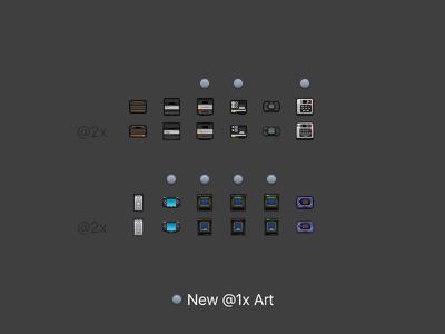OpenEmu Consoles @2x Round 2 pixel art video games videogames retina emulator icons consoles 32x32 @2x 16x16 openemu