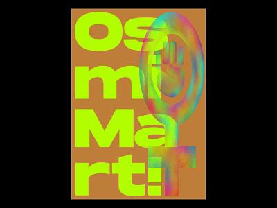 8th of March Poster 01 vector illustrator digital illustration illustration digital typography colors design illustration