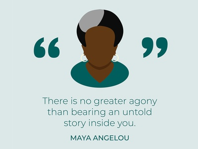 Maya Angelou quote graphic