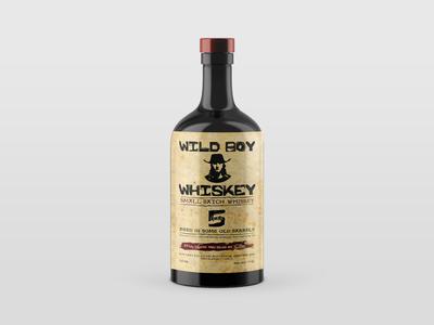 Whiskey bottle design