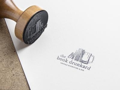 Book bar rubber stamp