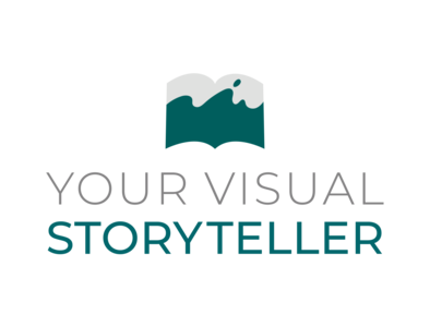 Your Visual Storyteller full color logo