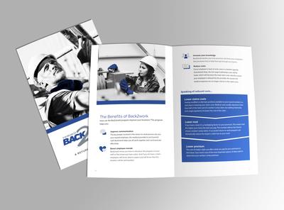 Insurance return-to-work program brochure