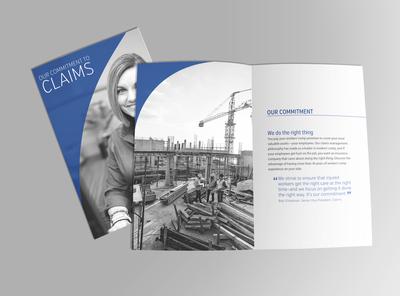 Insurance company claims brochure
