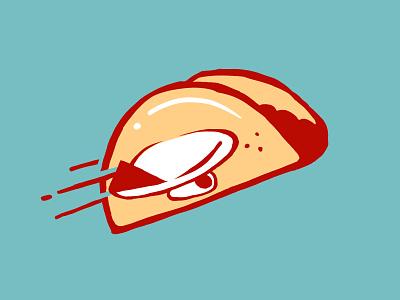 Take Off Tacos logo mark in progress vector creative logo design graphic design digital art illustration branding design branding food truck flight food taco logo airplane logo logodesign logo taco airplane adobe fresco