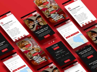 Swiss Chalet Web UI adobe xd ui design web development web design css html