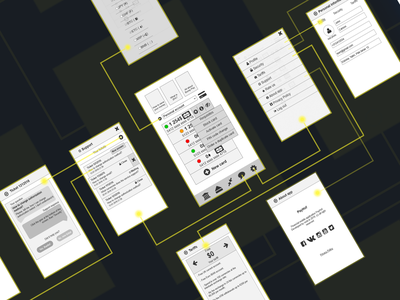 Bank app wireframe bank app crypto fintech finance axure wireframe prototype ux
