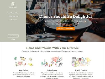 Alternate Home Page illustration ideal sans archer mockup