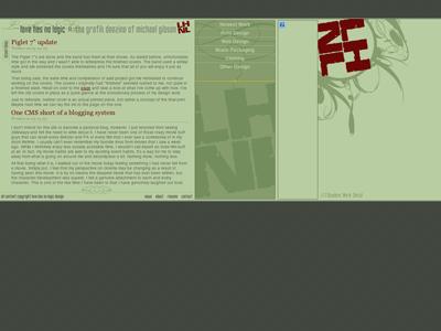 First Portfolio - 2005 website rebound diarrhea