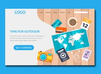 outdoor and travels banner