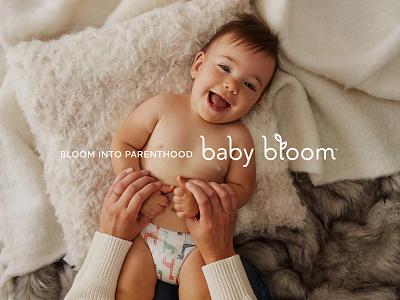 Bloom into Parenthood design mission tagline logo branding newborn nursery baby