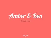 Amber & Ben