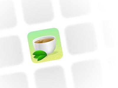 icon matcha illustration icon