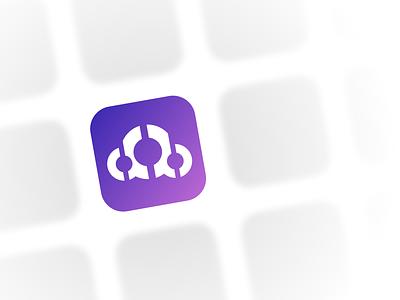 dribble icon cd logo icon
