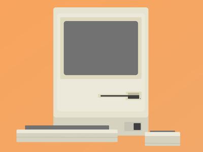 Macintosh #3 free macintosh html css psd download redesign web 128k code