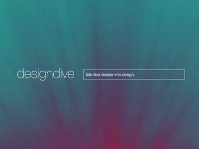 designdive design dive web upcoming studio website portfolio shot image deep