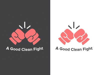 Logo for a Charity clean flat minimalist logotype glove boxer box charity logo