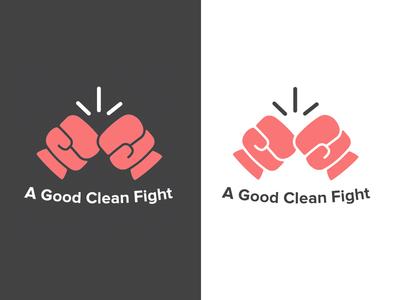 Logo for a Charity clean flat minimalist logotype glove boxer box charity logo