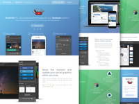 Social Kit Pro - Landing page