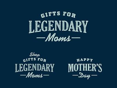 Mother's Day at YETI yeti legendary custom typography