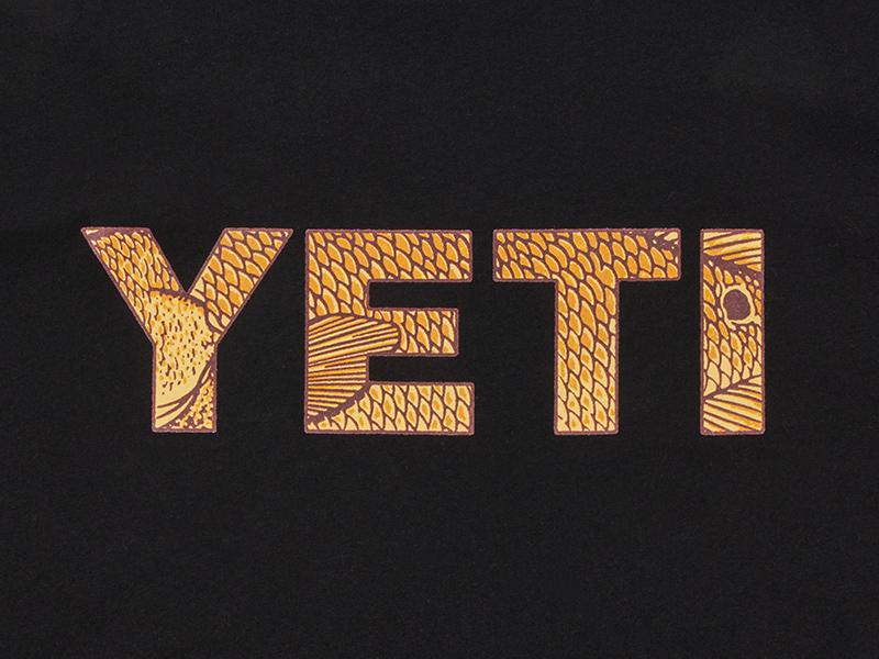 YETI Redfish t-shirt yeti coolers yeti scales redfish