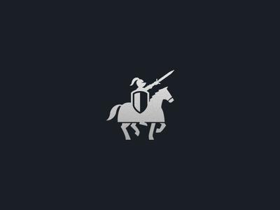 Onward! shield armor horse icon knight