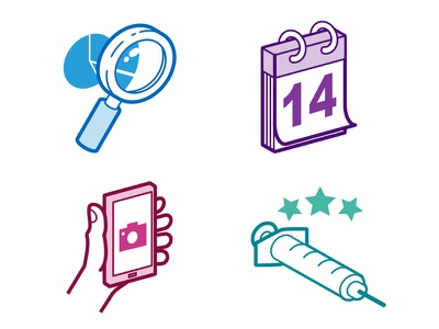 Isometric Icons diagram hand squirt picture smartphone phone calendar increases search icons icoon isometric