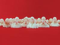 Crowd of Busties - 3D Printed Selfies