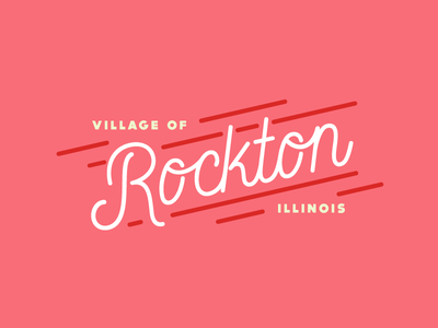 Rockton Geofilter illinois rockton line filter typography hometown location snapchat geofilter