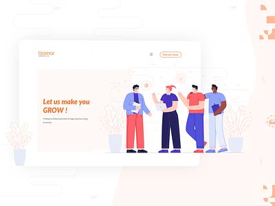 Teemar India Web Design uiux minimal website illustration webdesign uxdesign ui  ux ui design ui uidesign