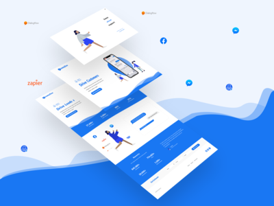 ManyFlow Messenger Automation UI/UX Design