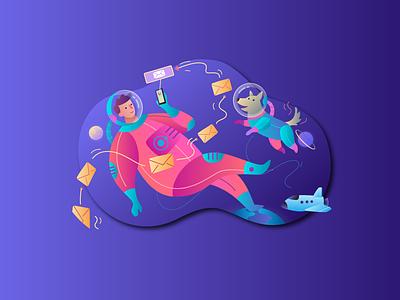 5 Free Vibrant Illustrations vector design freebies free free download illustration vibrant