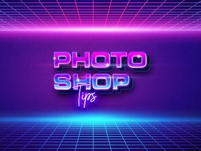 10 bad habits to avoid when using Photoshop article news design tip designer tip tips neon habit photoshop pink