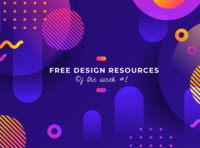 Free Design Resources Of The Week #1 - Collection by Pixelib illustration graphic design library news design tip design free collection