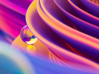 Free Abstract Liquid 3D Background