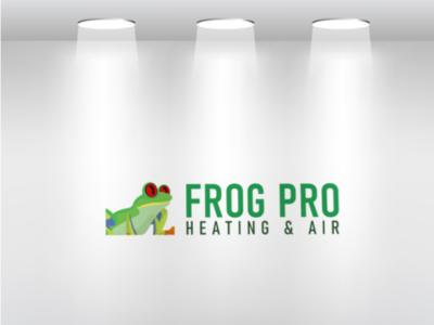 Mascot Frog Logo