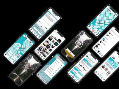Cavalier: Embrace the ride app ui ux