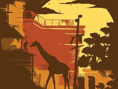 Ellie and Giraffe Alternate Color