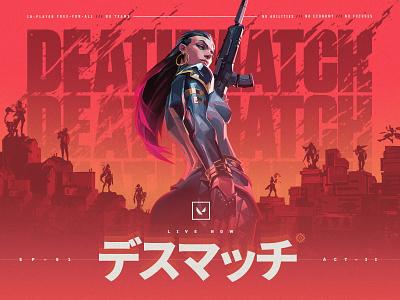 DEATHMATCH reyna deathmatch valorant