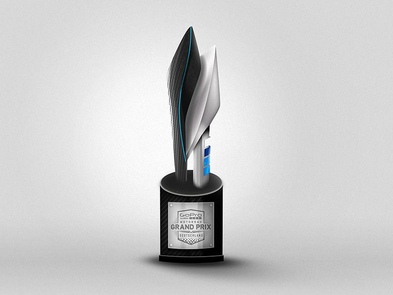 GoPro MotoGP Trophy by Brandon Meier | Dribbble | Dribbble