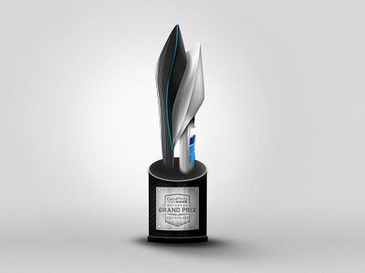 GoPro MotoGP Trophy gopro logo design render trophy motogp