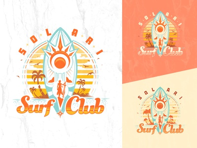 Solari Surf Club surfboard sun graphic tee t-shirt surf club summer pool party solari league of legends leona