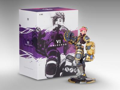 Unlocked Packaging Vi riot games league of legends packaging vi