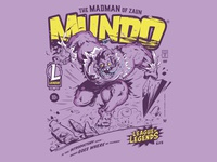 MUNDO Comic Inspired League Tees