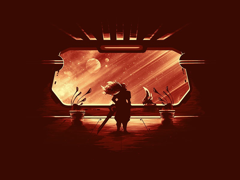 Odyssey Yasuo lol riot games sci-fi window spaceship space tee tshirt poster morning star leagueoflegends yasuo odyssey