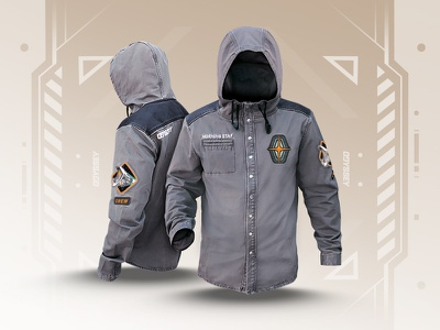 Odyssey Merch Mission Jacket crew morning star lol riot games merch apparel jacket league of legends odyssey